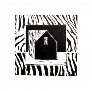 The Storm House-relief print-2013-