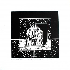 The snow house-relief print-2014
